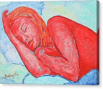 Canvas Print - Dream Big   by Xueling Zou