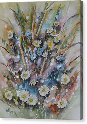Dream Bouquet Canvas Print by Kelly Mills