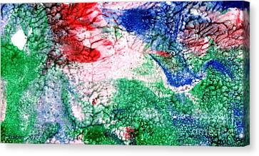 Dream By Taikan Canvas Print by Taikan Nishimoto