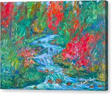 Dream Creek Canvas Print by Kendall Kessler