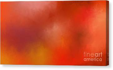 Dream In Colors  Canvas Print by Menna Yasser