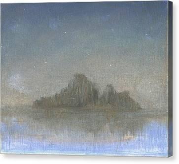 Dream Island Vl Canvas Print