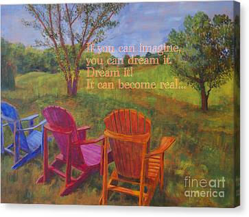 Dream It Canvas Print by Arthur Witulski