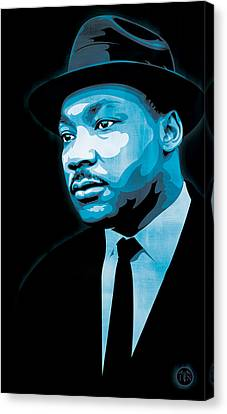 Martin Luther King Jr Canvas Print - Dream by Jeff Nichol