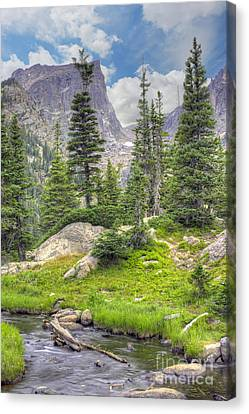 Western United States Canvas Print - Dream Lake by Juli Scalzi