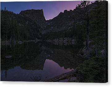 Canvas Print featuring the photograph Dream Lake Reflections by Gary Lengyel