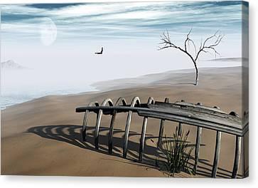 Dream Lake Canvas Print by Richard Rizzo