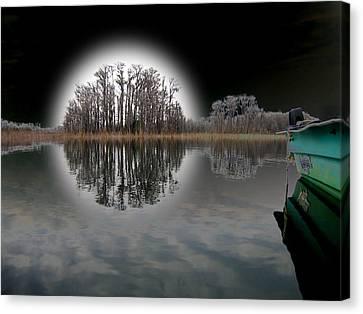 Dream Lake Canvas Print by Rick McKinney