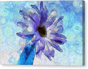 Flora Canvas Print - Dream Of Happiness by Krissy Katsimbras