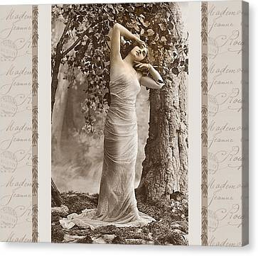 Dream Of The Night Canvas Print by Mary Morawska
