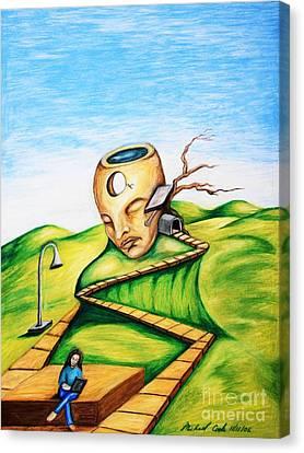 Dream Park Canvas Print by Michael Cook