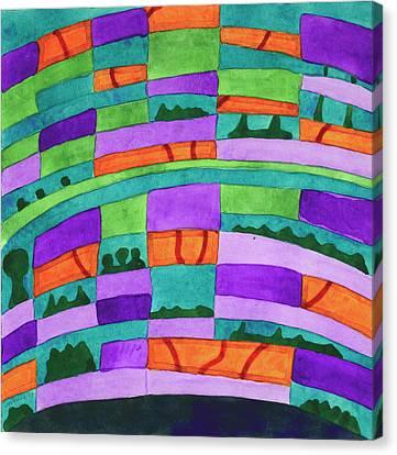 Dream Pillow Canvas Print by Heidi Capitaine