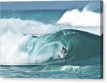 Dream Surf Canvas Print by Steven Sparks