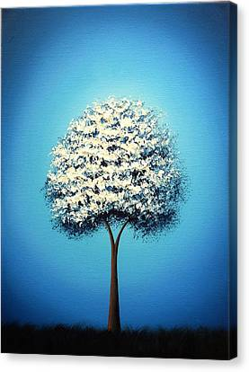 Dream The Night Canvas Print by Rachel Bingaman