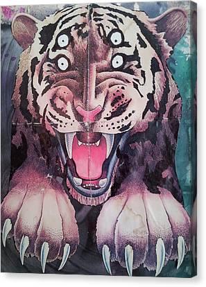 Dream Tiger Canvas Print by William Douglas