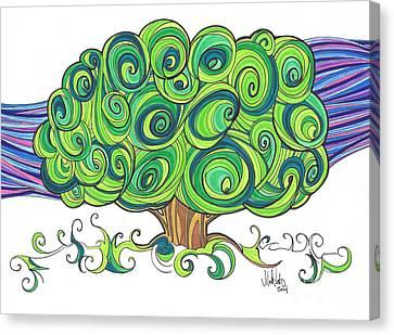 Dream Tree Canvas Print by Michael Ciccotello