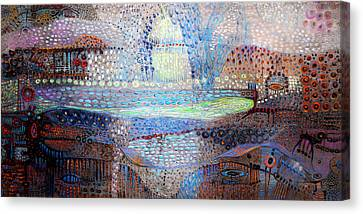 Dream Treveler Canvas Print by Lolita Bronzini