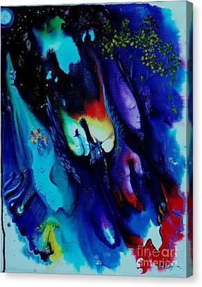 Dream Wizard Canvas Print by Sofanya White