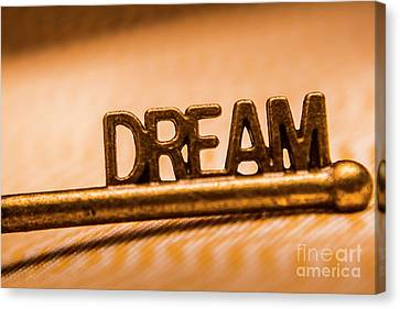 Dream Words Canvas Print by Jorgo Photography - Wall Art Gallery