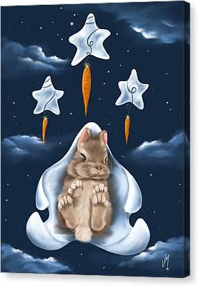 Dream World Canvas Print by Veronica Minozzi