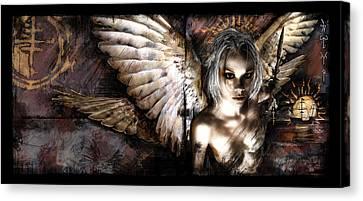 Goth Canvas Print - Dreamcypher by Mandem