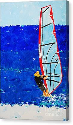 Dreamer Disease IIi Canvas Print by Art Mantia