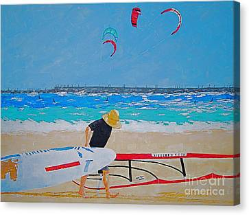 Dreamer Disease V Ponce Inlet  Canvas Print by Art Mantia