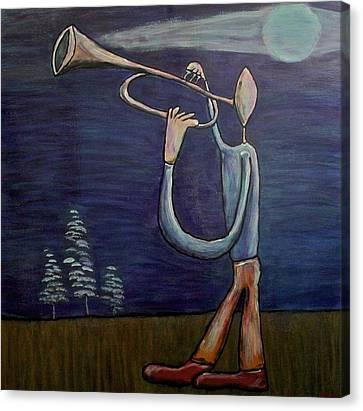 Dreamers 13-002 Canvas Print by Mario Perron