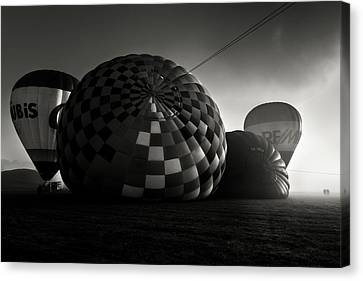 Canvas Print featuring the photograph Dreamers Of A Dream by Jorge Maia