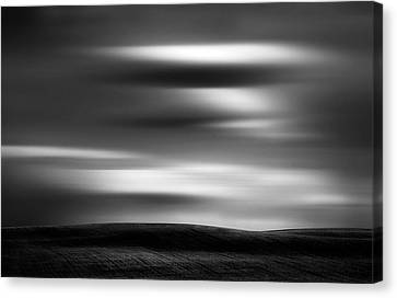 Canvas Print featuring the photograph Dreaming Clouds by Dan Jurak