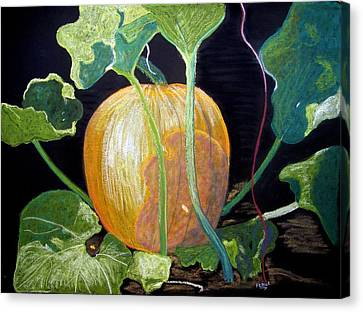Dreaming Of Fall Canvas Print by Diane Frick