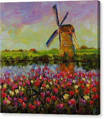 Dreaming Of Holland Canvas Print by Chris Brandley
