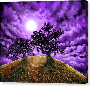 Oak Canvas Print - Dreaming Of Oak Trees by Laura Iverson