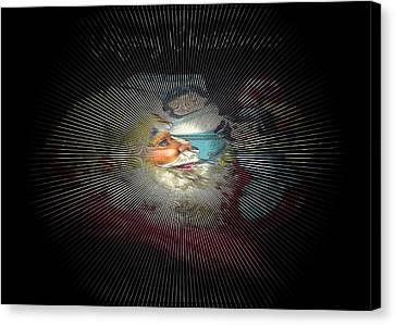 Dreaming Of Santa Canvas Print