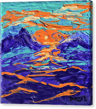 Dreaming Of The High Desert Canvas Print
