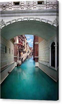 Dreaming Of Venice Canvas Print by Az Jackson