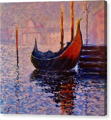 Dreaming Of Venice.. Canvas Print by Cristina Mihailescu
