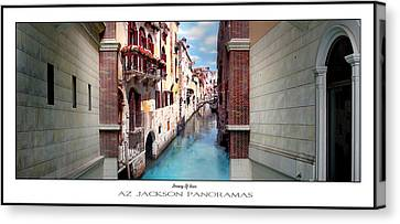 Dreaming Of Venice Poster Print Canvas Print by Az Jackson