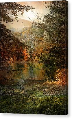 Canvas Print featuring the photograph Dreaming Of Yesterdays Gone By by John Rivera