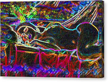 Dreaming Repose Canvas Print