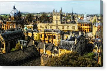 Dreaming Spires Canvas Print by Nigel Fletcher-Jones