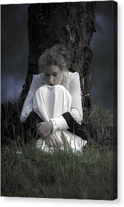 Dreaming Under A Tree Canvas Print by Joana Kruse