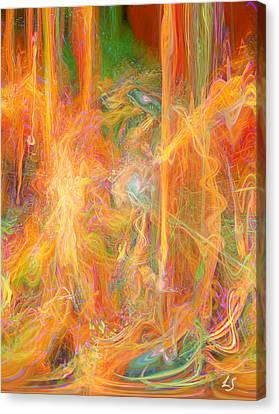 Dreams In Color Canvas Print by Linda Sannuti