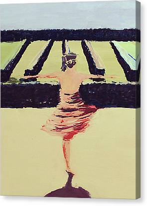 Dreams Of A Dancer Canvas Print