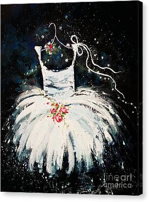 Dreams Of Dancing 2 Canvas Print by Angelina Cornidez