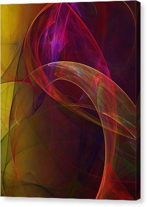 Dreams Of Fish And Other Things Canvas Print by David Lane