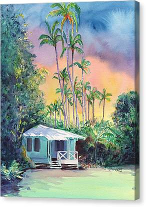 Dreams Of Kauai Canvas Print