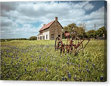 Old Country Roads Canvas Print - Dreams Of Long Ago by Linda Unger