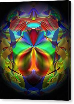 Canvas Print featuring the digital art Dreams Of The Future by Lynda Lehmann