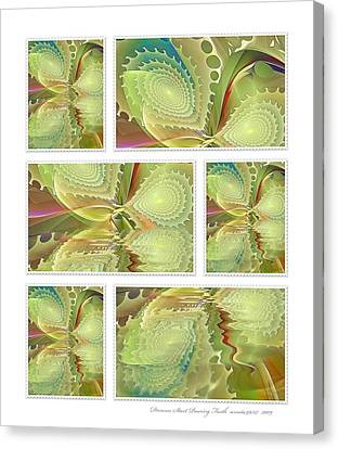 Dreams Start Pouring Forth Canvas Print by Gayle Odsather